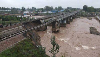 中國山西暴雨量破紀錄!受災範圍比河南大 民間捐款卻無力