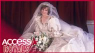 Prince William & Prince Harry Are Putting Princess Diana's Wedding Gown On Display At Kensington Palace