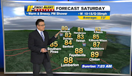 Morning weather forecast for Oct. 16, 2021