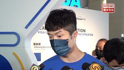 張家朗稱腳傷已無大礙 盼香港辦下屆全運會劍擊賽事 - RTHK