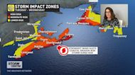 Hurricane Teddy: damaging winds and storm surge threat for Atlantic Canada