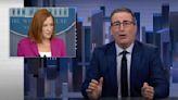 John Oliver Drags Jen Psaki for Blaming Migrant-Whipping on Horses