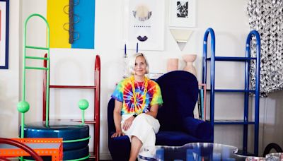 Leah Ring's Los Angeles Apartment Is a Geometrical Wonderland