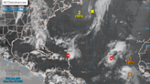 Peter and Rose are in the Atlantic, and another system is forecast to be a depression