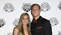 Swimmer Caeleb Dressel Gets Teary and His Wife Erupts with Joy at His Gold Medal Win: 'I Cry a Lot'