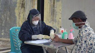 武漢肺炎》印尼疫情持續擴大 醫護壓力恐排山倒海