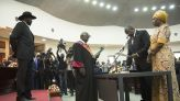 South Sudan's rivals form unity government meant to end war