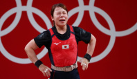 Olympics-Weightlifting-Japan's Miyake to retire after failing most attempts