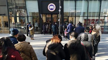 Canada Goose plunges on Hong Kong concerns