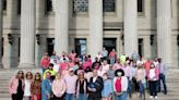 City of Springfield employees support breast cancer awareness with Pink & Denim Day