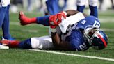 Giants lose Peppers to ruptured ACL, ankle injury