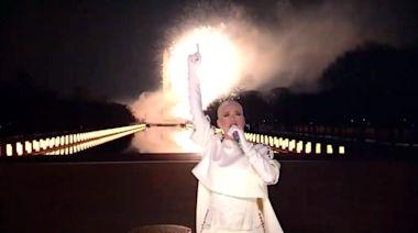 Watch Katy Perry Close Biden Inauguration Celebration With Fireworks