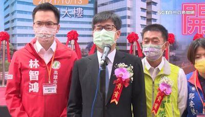民調過半勝柯、張亞中 陳其邁回應了