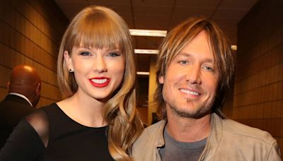 """Keith Urban Shares the """"Craziest"""" Story Behind His Collaboration With Taylor Swift"""