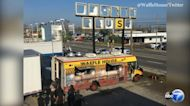 Waffle House gives away free food from food truck in Panama City, Florida