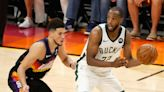 Devin Booker and Khris Middleton Talk Joining Forces on Tokyo Olympic Squad After NBA Finals