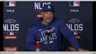 Dodgers take on Giants in Game 3 of NLDS