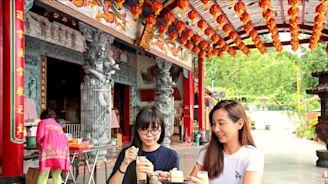 【意想不到 跨界咖啡館】新北‧NineSky 九天 宗教文化結合餐飲,來吃超「廟」下午茶!