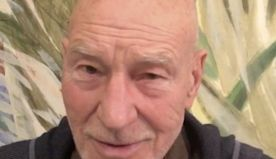 Sir Patrick Stewart is serenading Instagram with daily sonnets