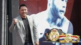 Oscar De La Hoya to face Vitor Belfort in pro boxing bout at Staples Center Sept. 11