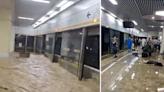 (影) 鄭州暴雨成災7省隊伍趕赴現場 幼兒園師生驚險營救