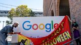 SF prank artist turns Google office into a Spirit Halloween store