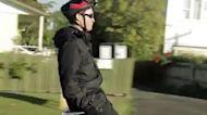 超酷的迷你折疊電動自行車,讓通勤更便利!