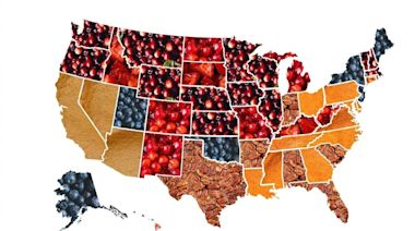 This Map Shows the Most Popular Thanksgiving Pies