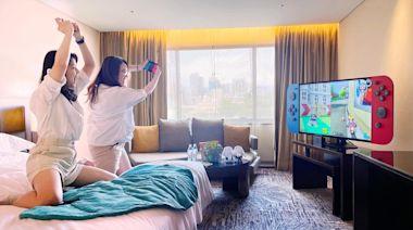 客房變健身房、電競室,台北喜來登「宅房動一夏」專案開「動」 - 工商時報
