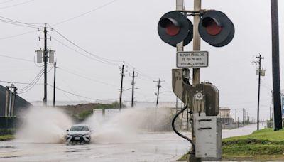 Nicholas strengthens into a hurricane as it nears Texas