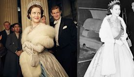 30 Side-By-Side Photos of Royal Outfits That Were Recreated on 'The Crown'
