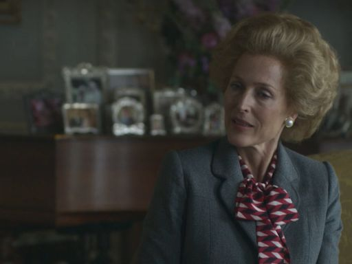 'The Crown': Gillian Anderson's Margaret Thatcher takes centre stage in series four trailer