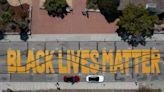 2 men arrested for allegedly vandalizing Black Lives Matter mural in Santa Cruz