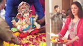 Ganpati Visarjan 2021: Divya Khosla Kumar Bids Emotional Goodbye To Bappa