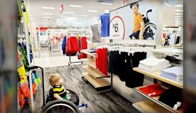 West Springfield Boy In Inspiring Target Ad: 'Keep Going With Your Dreams'