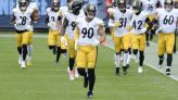 Steelers' T.J. Watt 'not going to be talking about' contract status