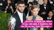 Throwback! Gigi Hadid and Zayn Malik Cozy Up in Photo From Sex Reveal