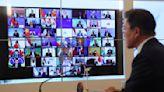 Unmute, please: Echoes, glitches resound in virtual summit
