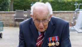 99-Year-Old Veteran Raises Millions Walking Laps Of His Yard During Lockdown
