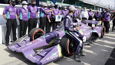 IndyCar GMR Grand Prix starting lineup at Indianapolis Motor Speedway