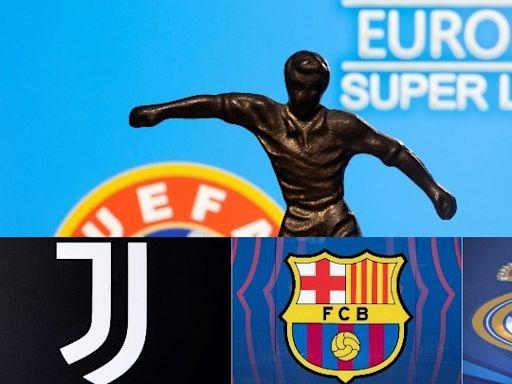 歐超聯崩潰|皇馬巴塞祖記出聯合聲明 堅決唔向UEFA屈服 | 蘋果日報