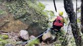 虎豹潭持續間歇性大雨 救援難度增6潛水人員賭命嘗試下潛