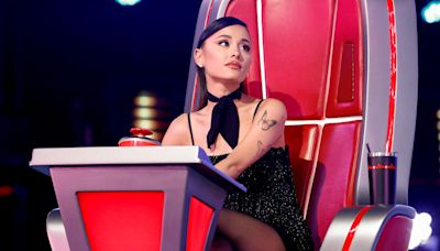 Voice Contestant Holly Forbes Gets Ariana Grande 'Choked Up Beyond' with 'Rocket Man' Rendition
