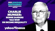 Charlie Munger: Bernie Sanders 'has won' on income inequality