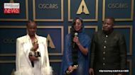 H.E.R. on Winning Best Original Song For 'Fight For You' From 'Judas the Black Messiah' | Oscars 2021