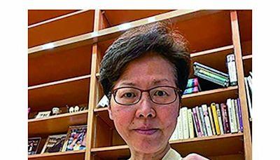 香港特首林鄭月娥跌傷右手 料兩至三星期痊癒