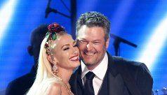 LOL! Gwen Stefani Wears Vans With Blake Shelton's Face on Them