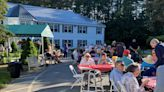 Assisted living facility hosts first large gathering since before the pandemic