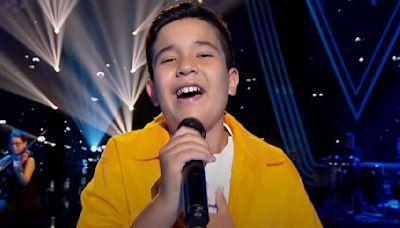 Levi Díaz, ganador de 'La Voz Kids', representará a España en el Festival de Eurovisión Junior