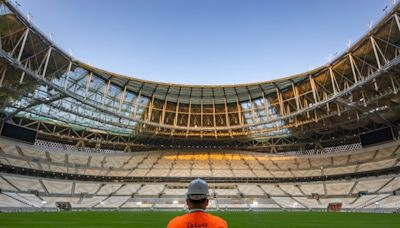 Qatar World Cup final venue 98.5 percent complete: official